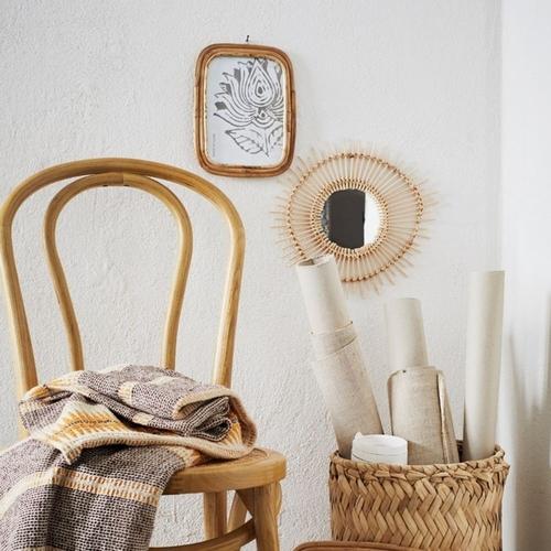 Adoptez ce cadre en bambou pour habiller vos murs de vos