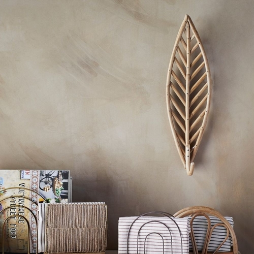 Ce magnifique crochet en bambou est l'illustration parfaite